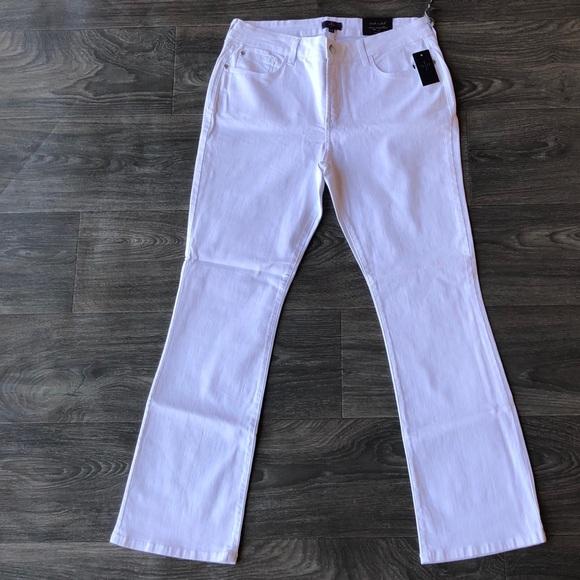 NYDJ Denim - NYDJ Mini Boot Jeans Optic White Size 12P Petite